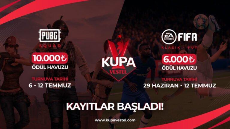 Kupa Vestel 29 Haziran'da başlıyor
