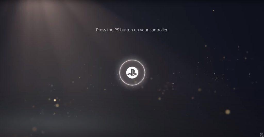 PS5 arayüzü
