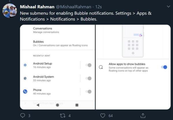 Android 11 Beta, yanlışlıkla yayınlandı. İşte ilk detaylar