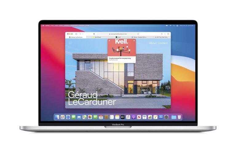 macOS Big Sur tanıtıldı! macOS baştan yaratıldı!