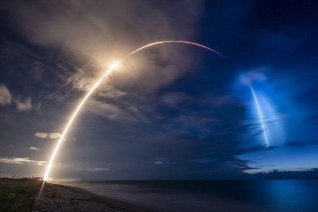 SpaceX Starlink için 58 yeni uydu fırlattı