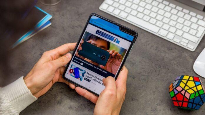 Galaxy Fold 2 tasarımı