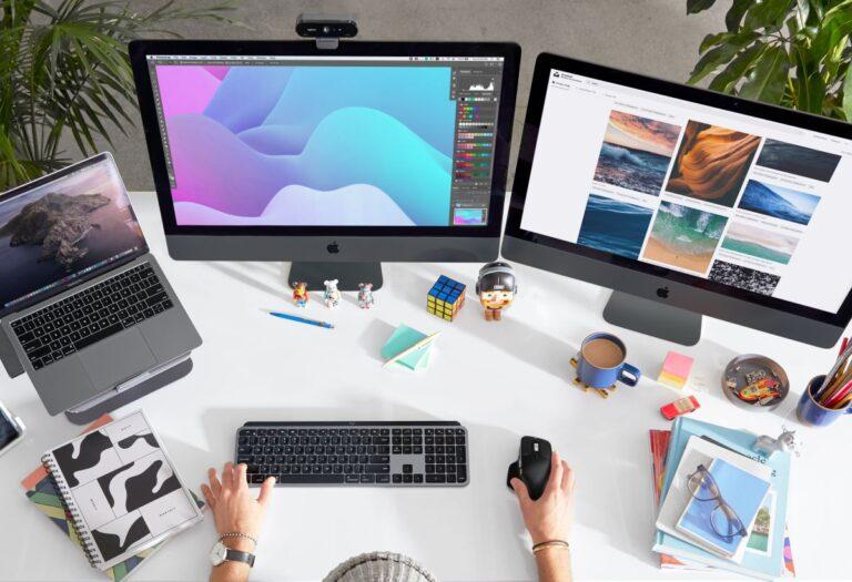 MX Master 3 ve MX Keys klavye mouse Mac kullanıcılarına özel tasarlandı