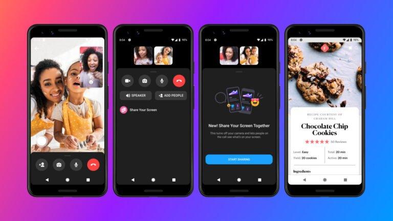Messenger ekran paylaşımı özelliği ile güncellendi!