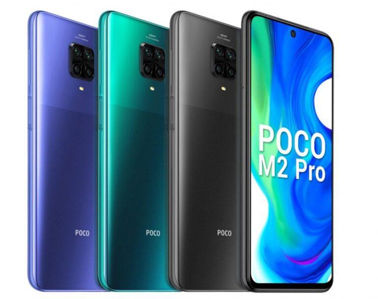 Türkiye'de de satılacak olan uygun fiyatlı POCO M2 Pro tanıtıldı!