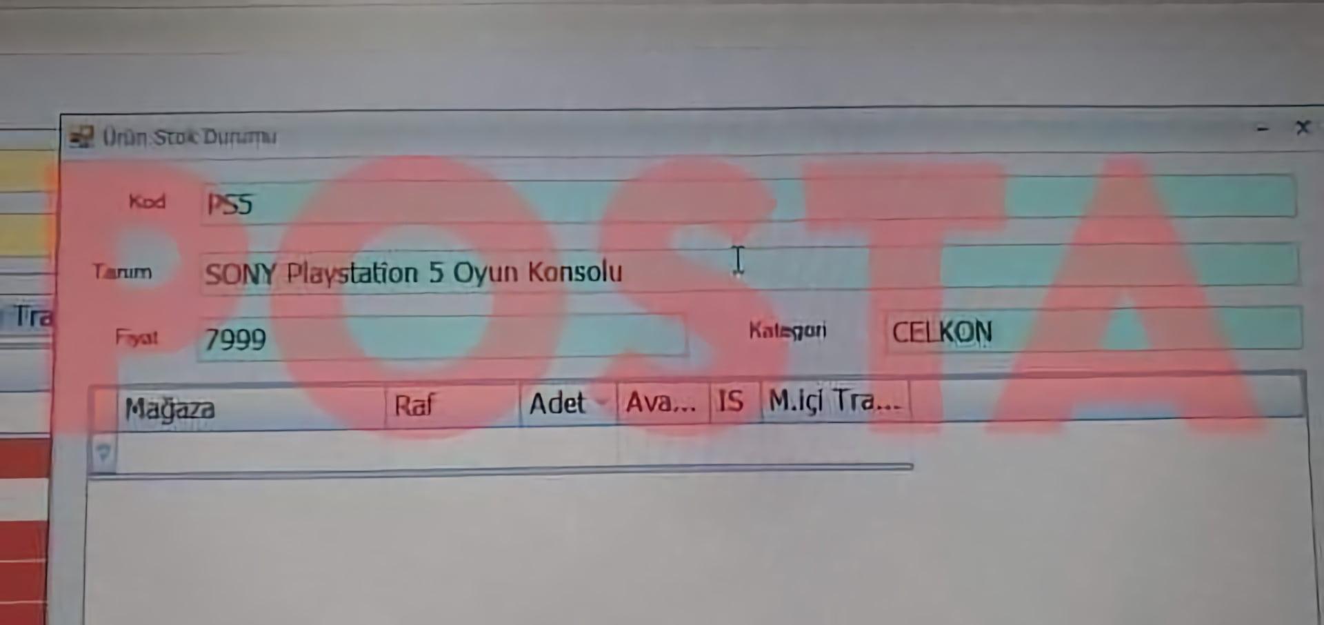 PS5 Türkiye fiyatı