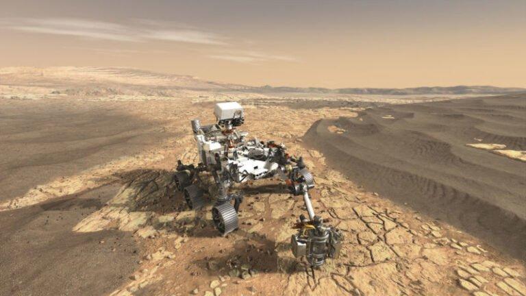 Rover Mars'ta hayat izi aramaya çıktı