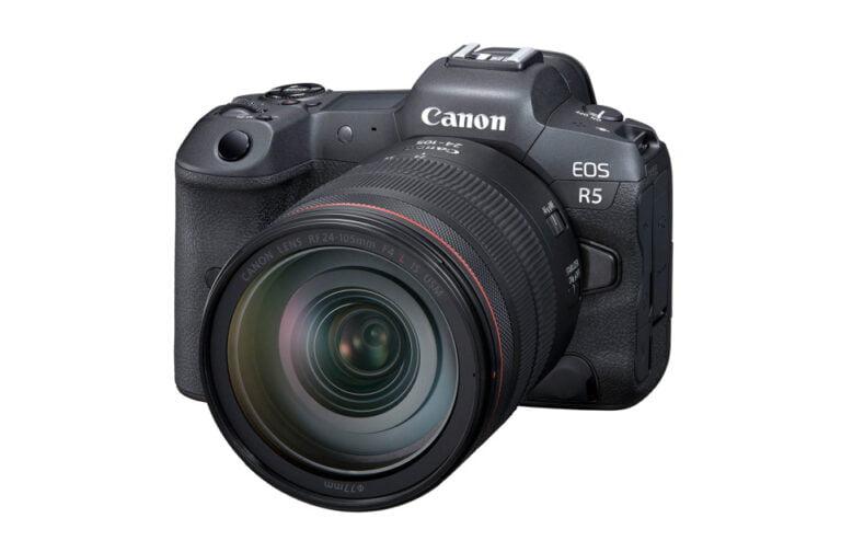 Canon EOS R5 8K video kaydediyor