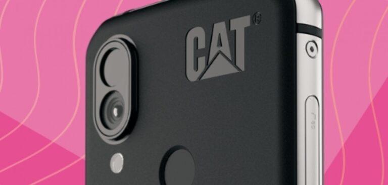Termal kameralı akıllı telefon Cat S62 Pro