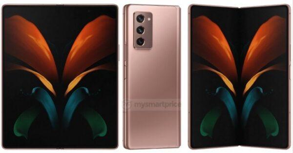 Samsung Galaxy Z Fold 2 5G'nin basın görselleri sızdırıldı