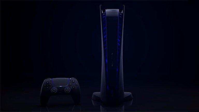 PlayStation 5 siyah rengi ile karşımızda!