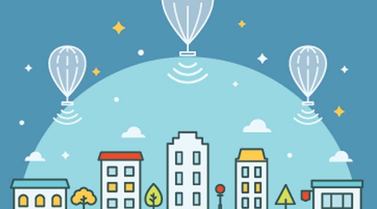 Google Loon balonları Kenya'da hizmet vermeye başladı