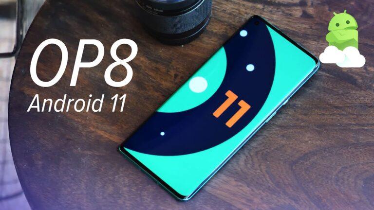 Android 11 Geliştirici önizleme 3 OnePlus 8 ailesine geldi!