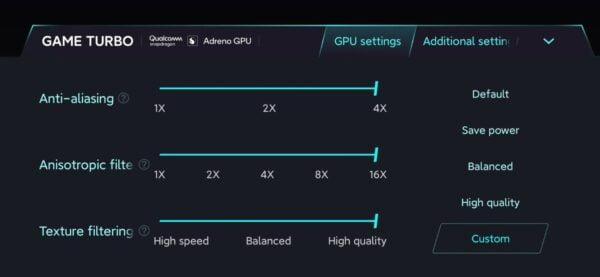 Xiaomi Mi 10 Pro+'da özelleştirilebilir GPU ayarları olacak