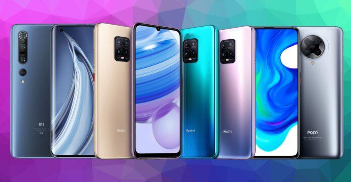 Xiaomi telefonlar