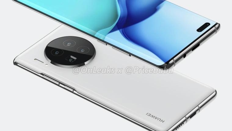 Huawei Mate 40 Pro 6 arka kamera ile gelecek!