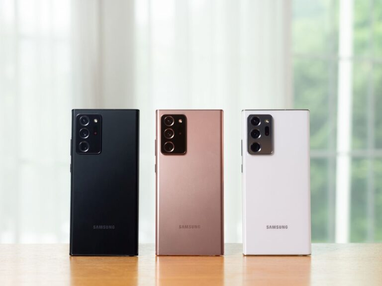 Galaxy Note 20 Ultra 'ya en iyi ekran ödülü