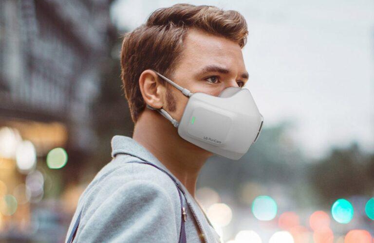LG PuriCare Wearable Air Purifier maske ile koronaya geçit yok!