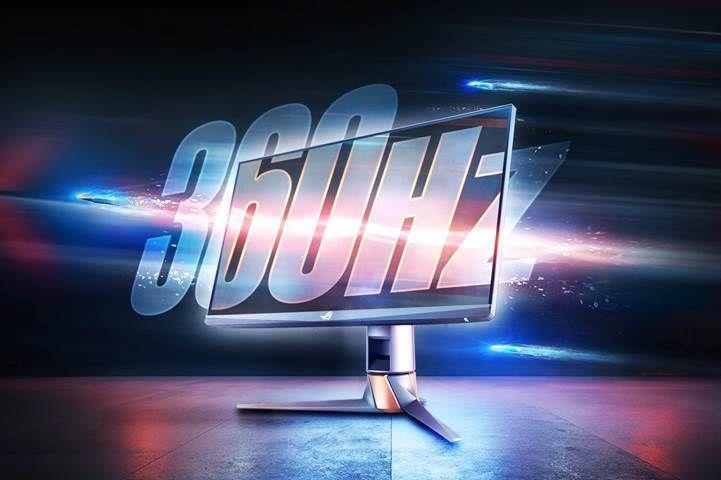 ROG Swift 360 Hz PG259QN : Dünyanın en hızlı oyuncu monitörü