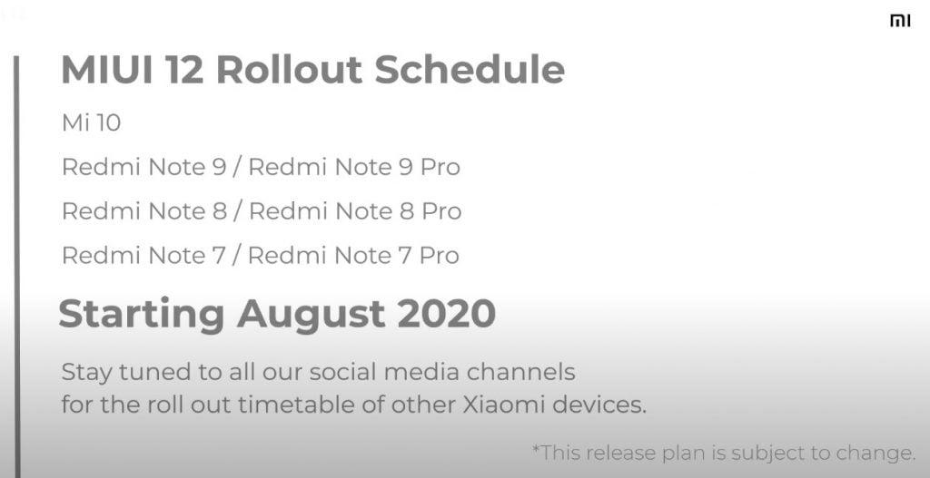 Redmi Note 9 için MIUI 12