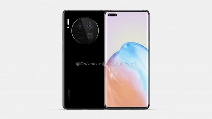 Huawei Mate 40 işte böyle görünecek!