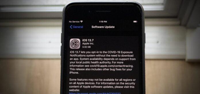 iOS 13.7 Beta
