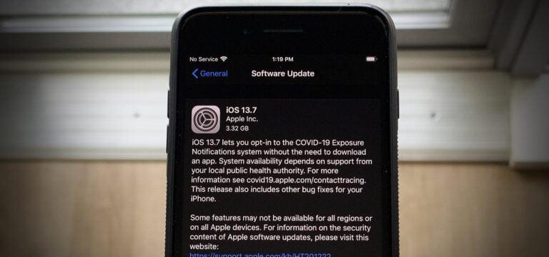 iOS 13.7 güncellemesi yayınlandı!