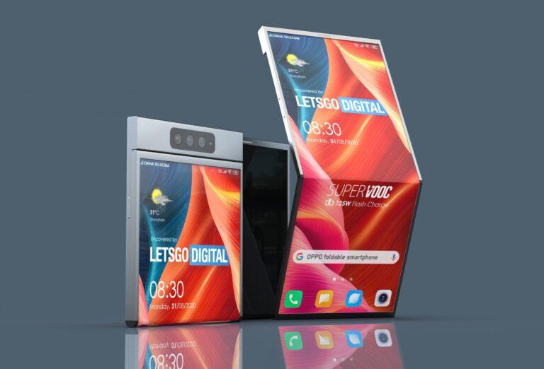 Oppo katlanabilir ekranlı telefon için patent aldı