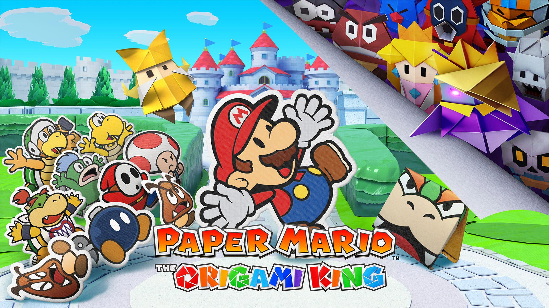 Paper Mario The Origami King incelemesi