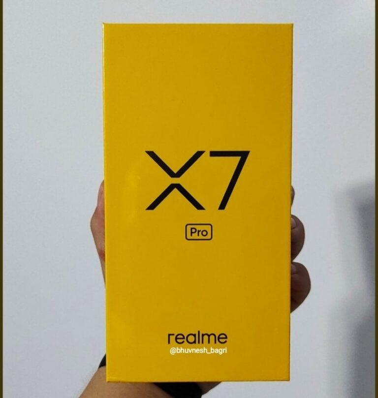 Realme X7 Pro global pazara geliyor