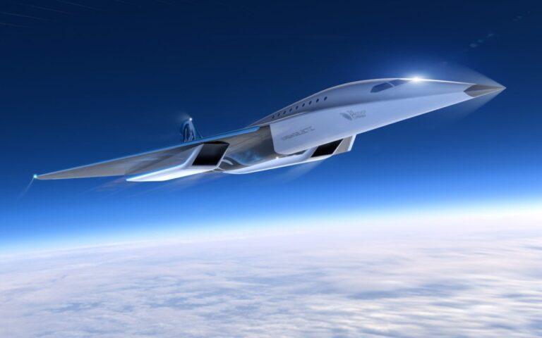 Virgin Galactic süpersonik uçak tanıttı