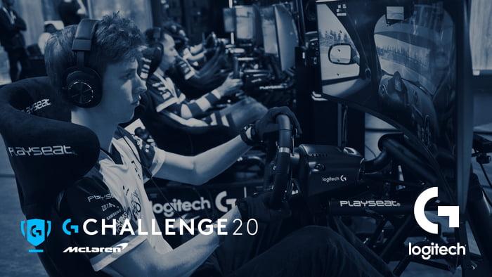 Logitech McLaren G Challenge için geri sayım başladı