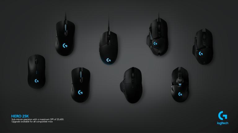 Logitech G, Yazılım Güncellemesi ile Mouse'larını 25K Sensörüne Yükseltti
