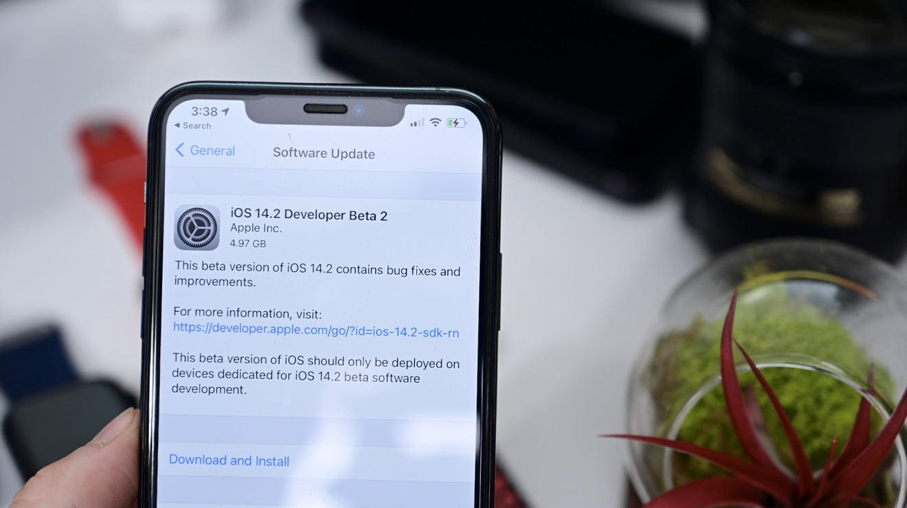 iOS 14.2 Beta 2