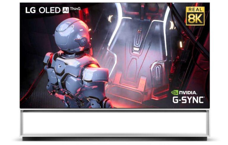 LG 8K OLED TV modelini duyurdu!