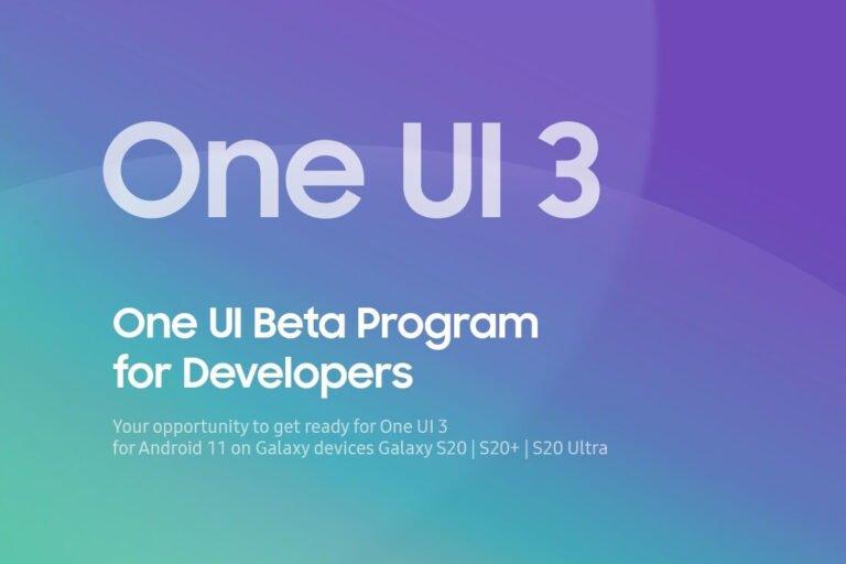 Galaxy S20 için One UI 3.0 Beta süreci başlıyor!