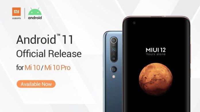 Xiaomi Mi 10 için Android 11