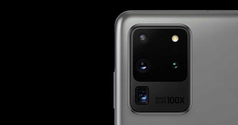 Galaxy S20 kamerası için yeni güncelleme!