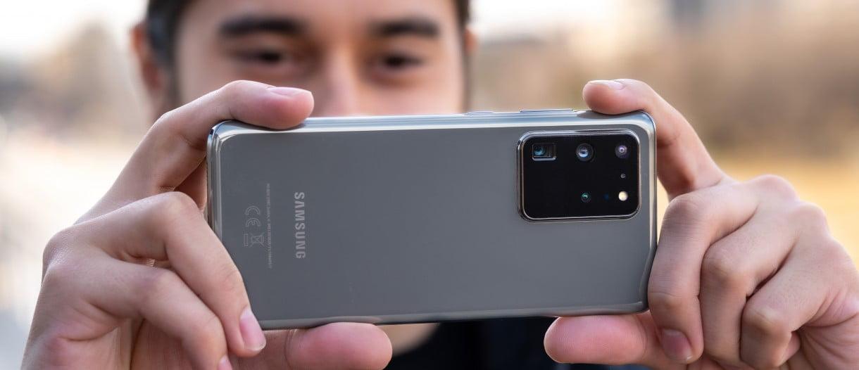 Galaxy S20 kamerası