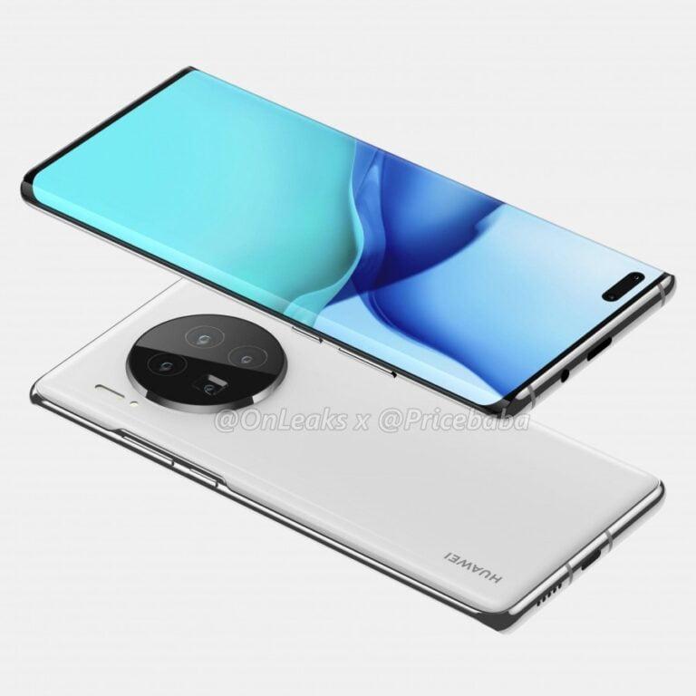 Huawei Mate 40 Pro videoda görüntülendi!