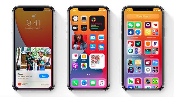 iOS 14 güncellemesi