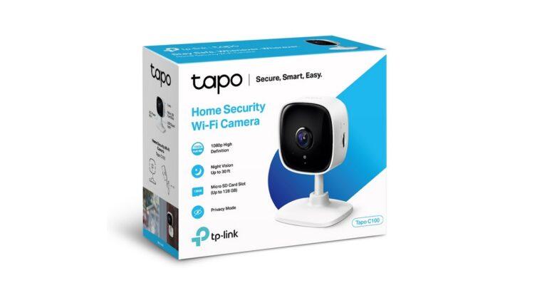 TP-Link Tapo C100 ile ev ve ofisinizi güvence altına alın