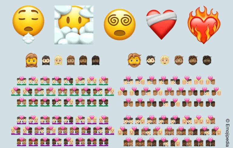 Yeni Emoji güncellemesi hazır