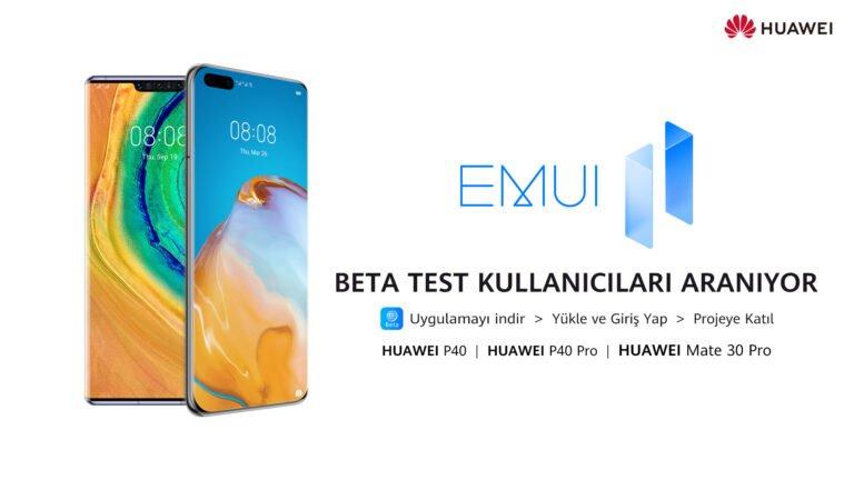Huawei EMUI 11 beta testleri başladı!
