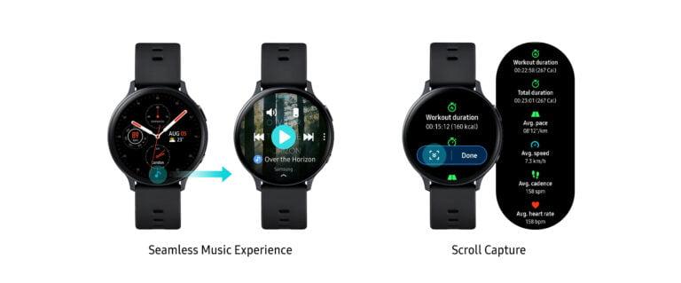 Galaxy Watch Active2 için yeni güncelleme