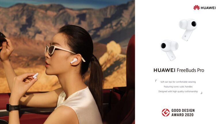 HUAWEI FreeBuds Pro ve P40 Serisinden büyük başarı
