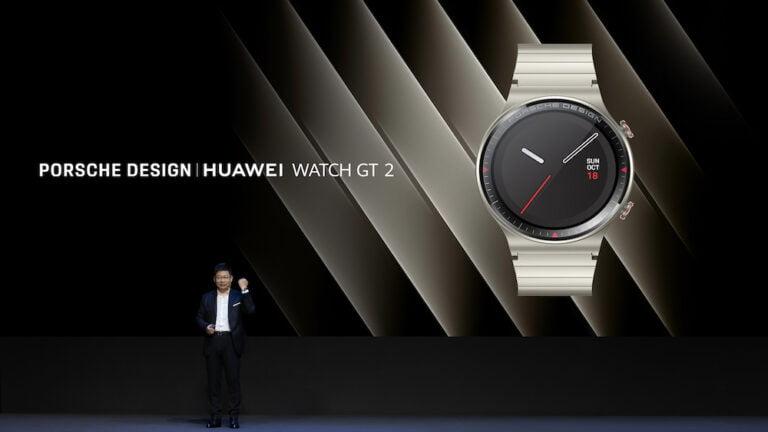 PORSCHE DESIGN HUAWEI WATCH GT 2 tanıtıldı!