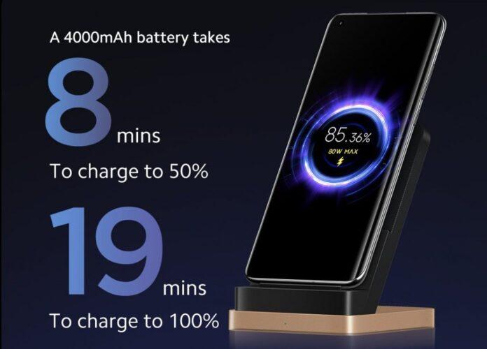 Xiaomi 80W kablosuz şarj teknolojisini tanıttı!