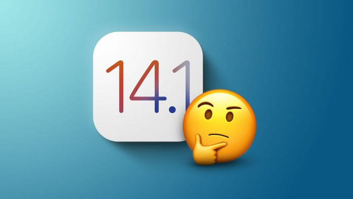 Apple iOS 14.1 Golden Master