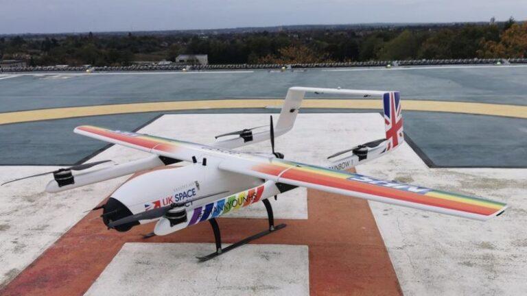 Drone ile Covid 19 testi taşıyacaklar